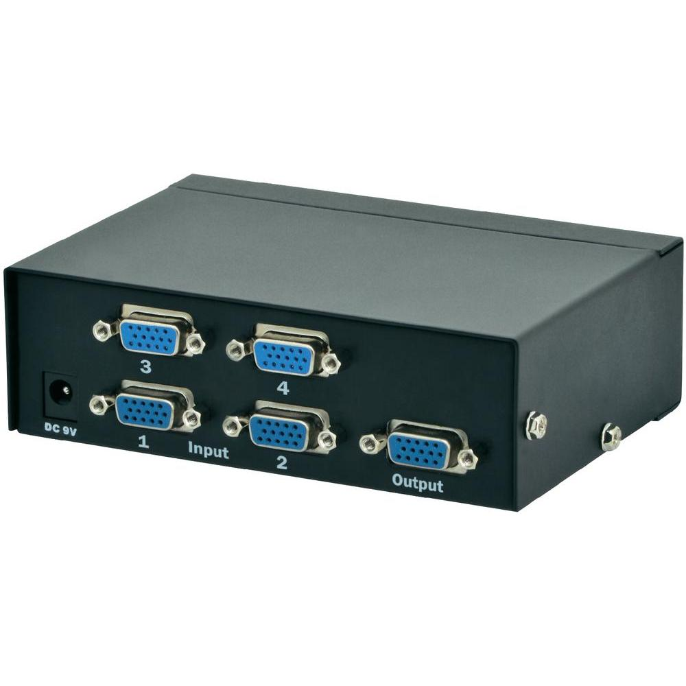 SWITCH DIGITUS VIDEO SPLITTER 500MHZ 4P