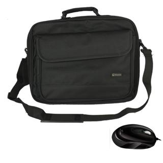 BORSA ATLANTIS 16.1 +  MOUSE BLACK