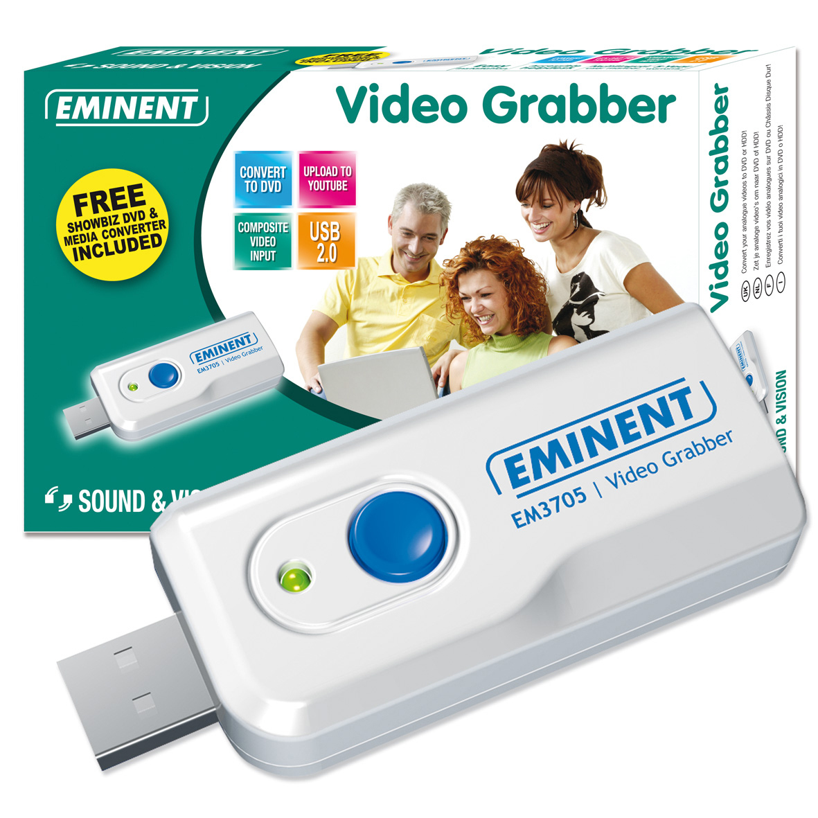 VIDEO GRABBER EWENT USB 2.0