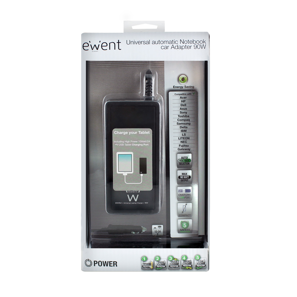 ALIMENT.NOTEBOOK EWENT 90W+USB