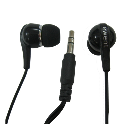AURICOLARI IN-EAR EWENT EW3584 BLACK