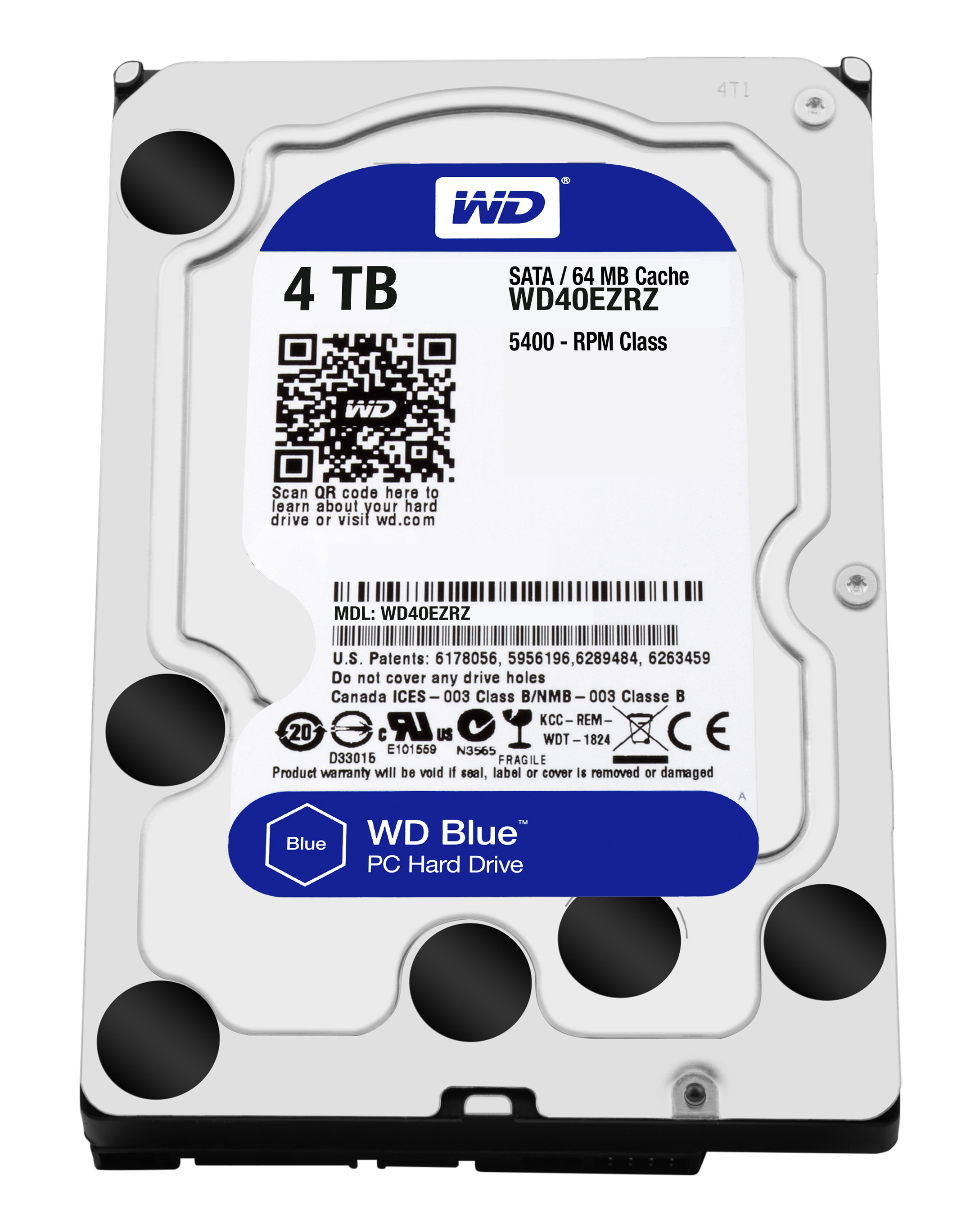 HD W.DIGITAL WD40EZRZ 4TB 64MB 3.5 SATA