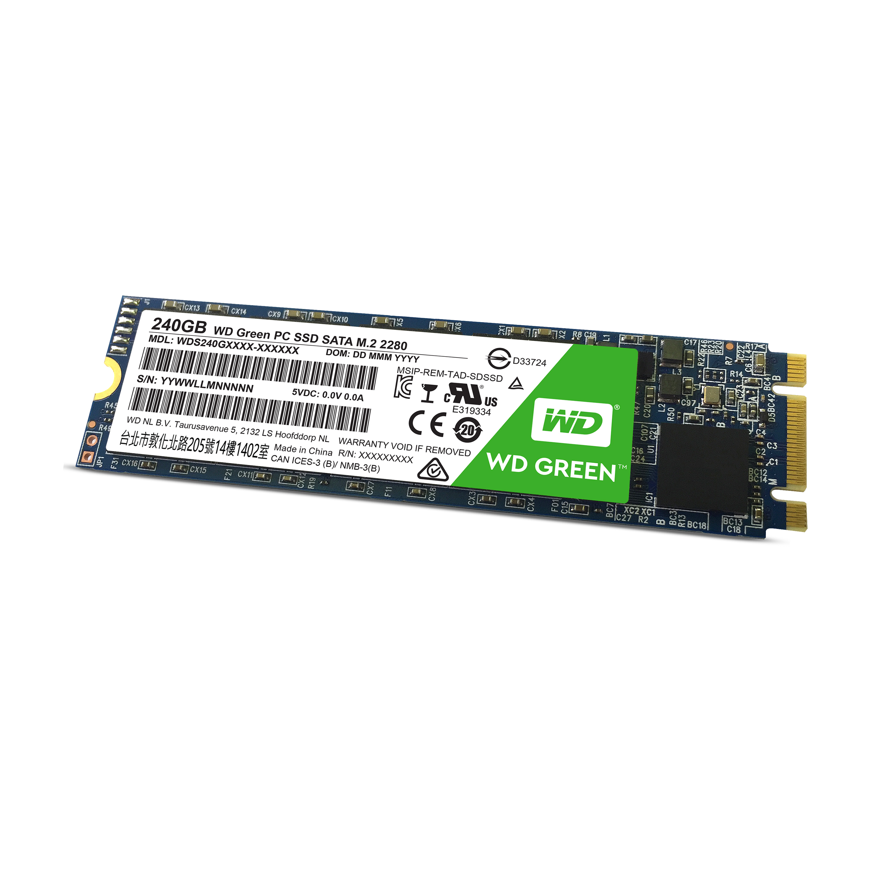 W DIGITAL WDS240G1G0B SSD 240GB M.2