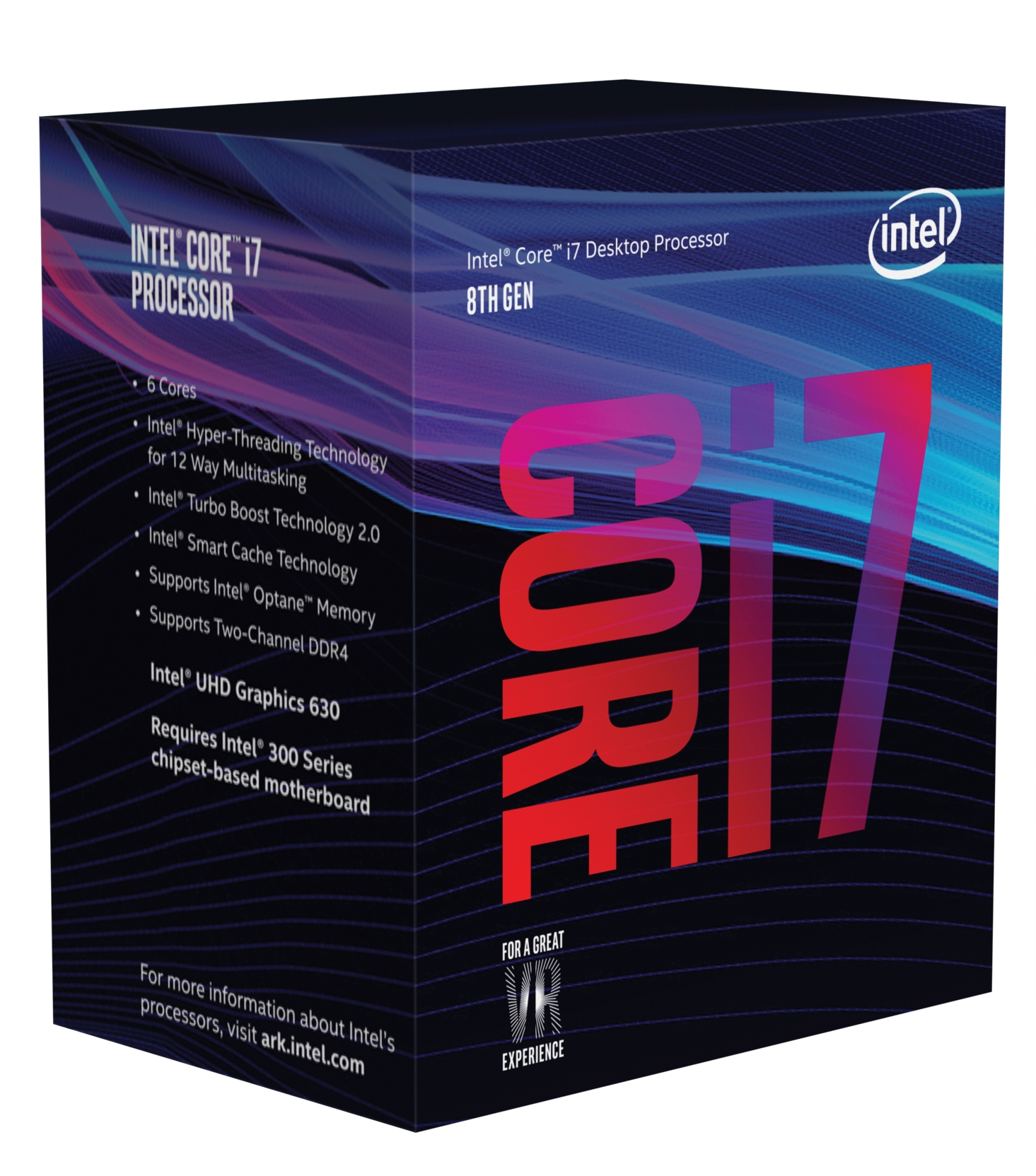 CPU INTEL I7-8700K 3.7Ghz 12MB SK1151 NO FAN