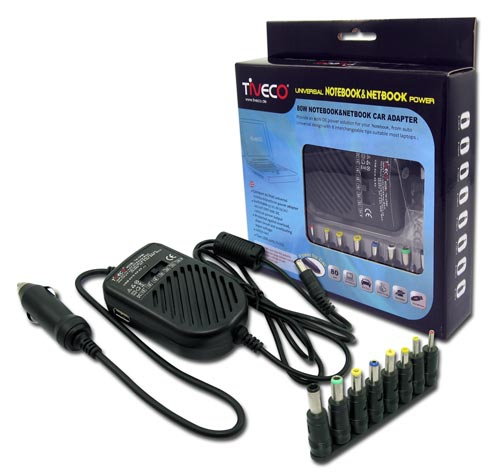 ALIMENTATORE TIVECO  80W CAR ADAPTER