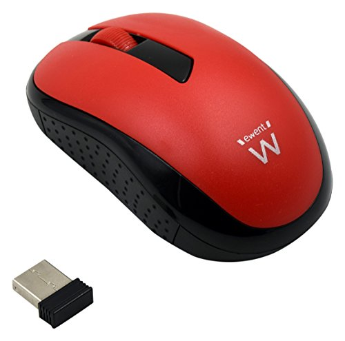MOUSE EWENT WIFI 1000DPI ROSSO
