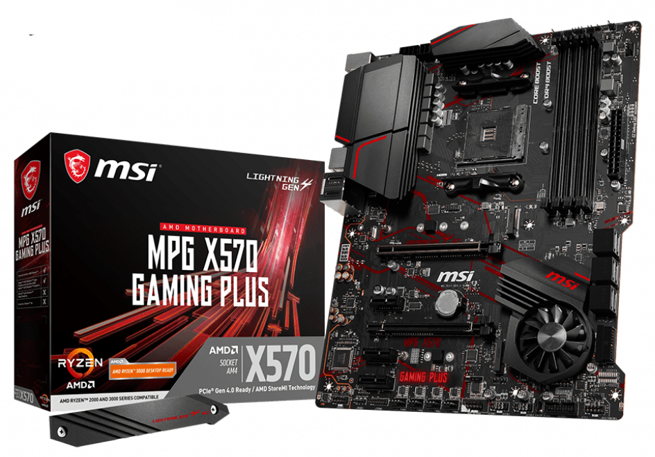 MB MSI MPG X570 GAMING PLUS AM4 ATX