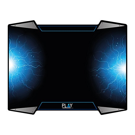 MOUSE PAD GAMING PLAY 320X400X4MM PL3340