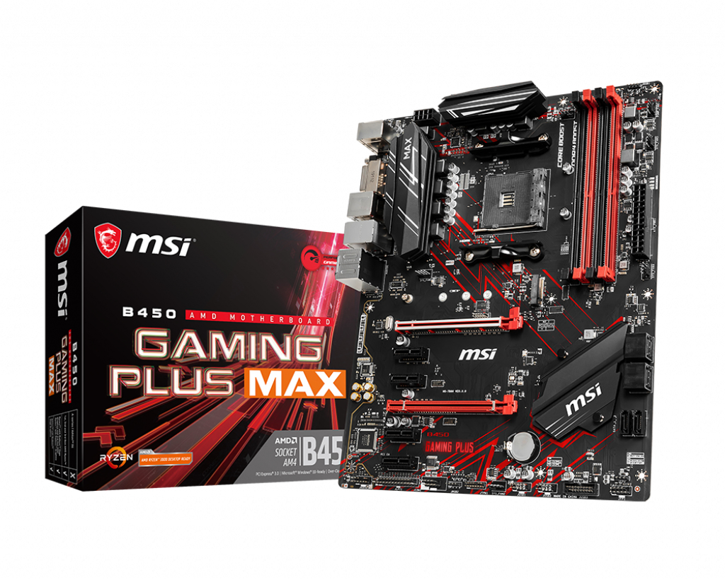 MSI B450 GAMING PLUS MAX AM4 ATX