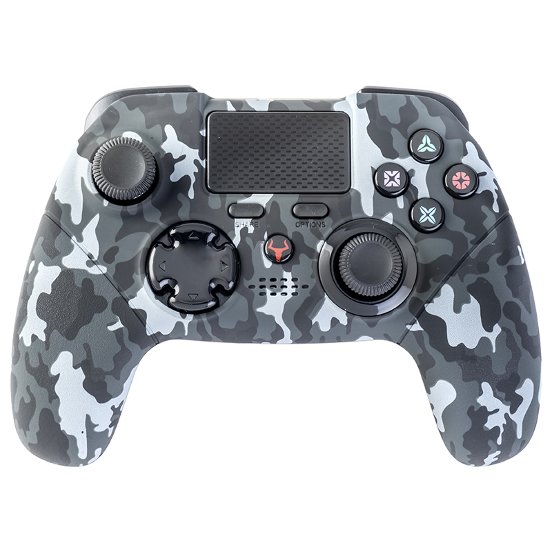 TAURUS PROCON PAD BLUTOOTH PC PS4 TOUCHPAD AXIS6 CAMO