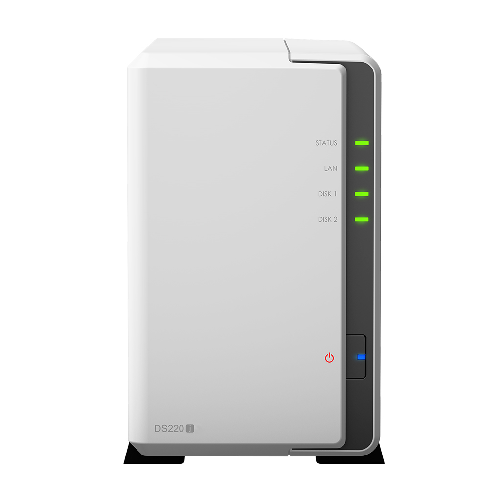 NAS SYNOLOGY DS220J 2 BAY