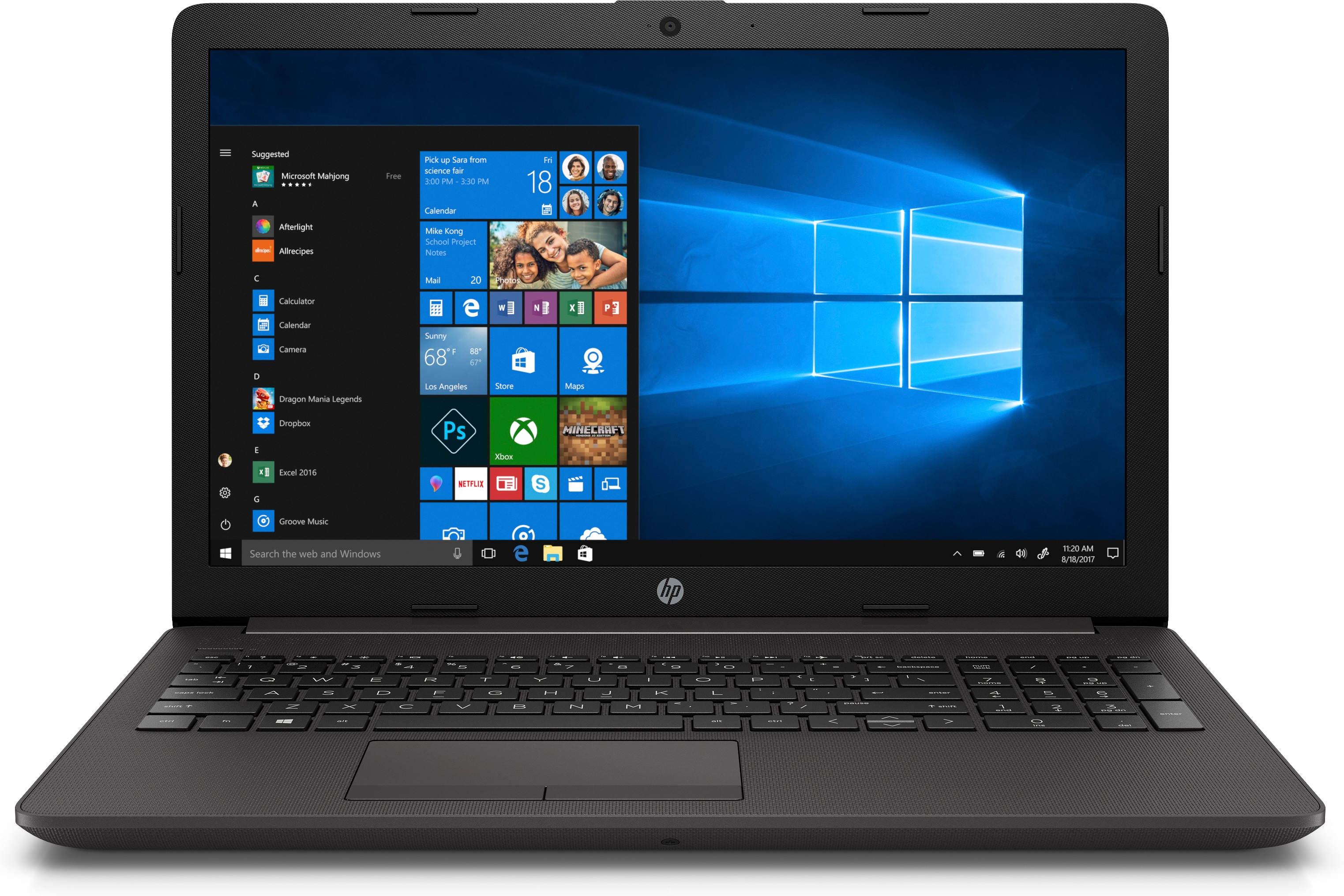 HP 255 G7 AMD RYZEN 3 3200U/8GB/256GB SSD/ WIN10/15.6