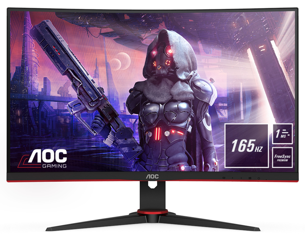 MONITOR AOC C27G2AE Curvo 165Hz FullHD 1ms FreeSync HDMI/DP