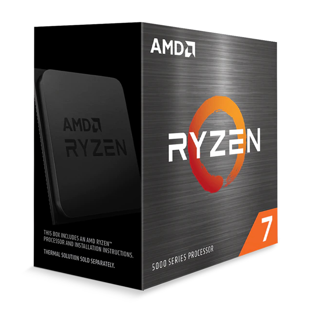 CPU AMD RYZEN 7 5800X 3.8GHz TURBO 4.7GHz AM4 BOX