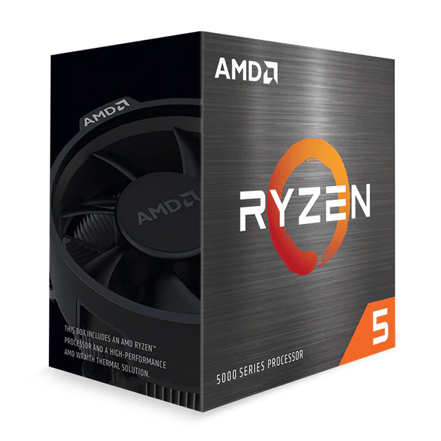CPU AMD RYZEN 5 5600X 3.7GHz TURBO 4.6GHz AM4 BOX