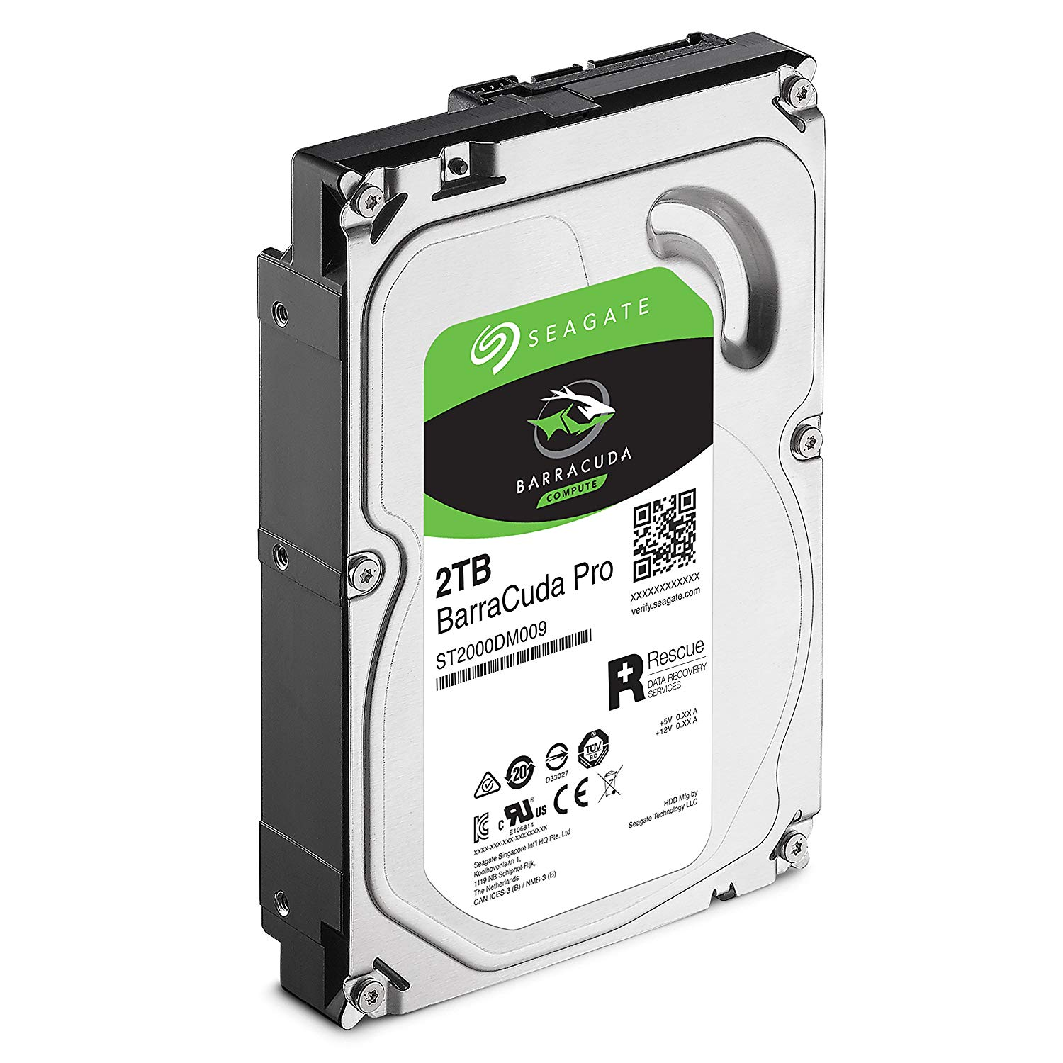 HD SEAGATE 2TB BarraCuda 256MB 3.5 SATA