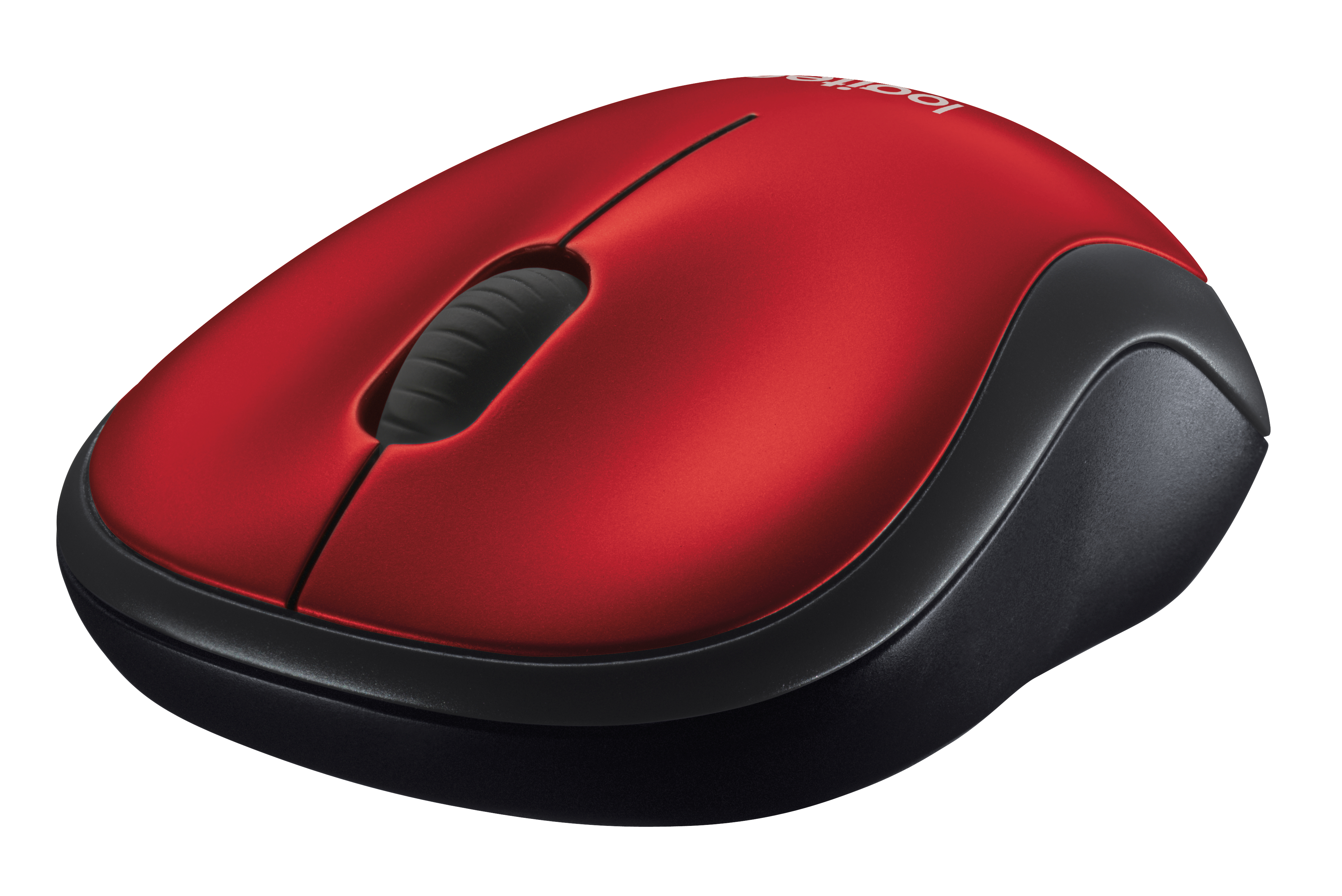 MOUSE LOGITECH M185 W/L USB 2.0 RED