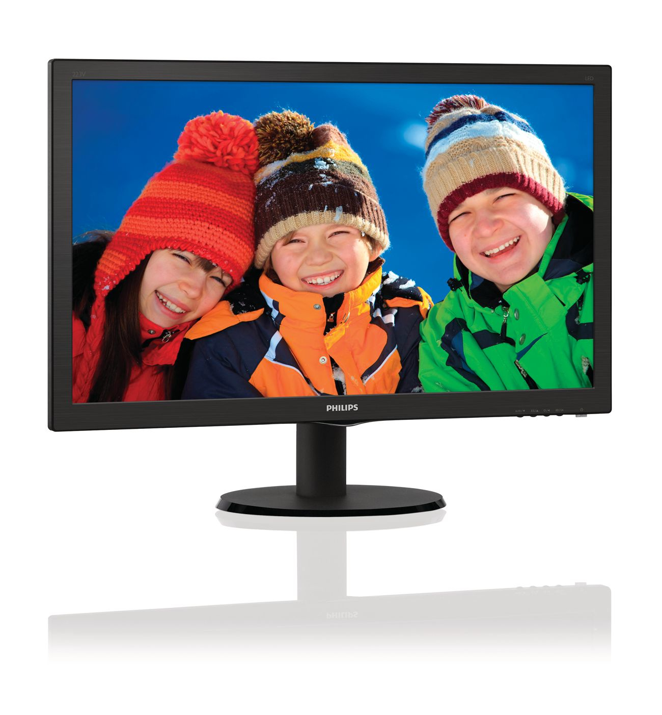 MONITOR PHILIPS 223V5LHB 22 LED HDMI