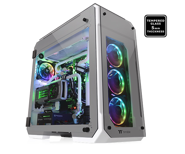 CASE THERMALTAKE VIEW 71 SNOW WHITE ATX